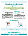 Thumbnail of Ask for ONFI® (clobazam) CIV by Name PDF